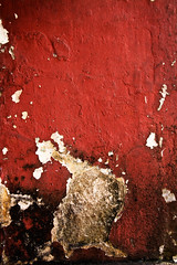 sanguine (ion-bogdan dumitrescu) Tags: old red texture wall blood peeling paint decay crack malaysia kualalumpur bloody cracked bitzi summer09 ibdp mg9483edit findgetty ibdpro wwwibdpro ionbogdandumitrescuphotography
