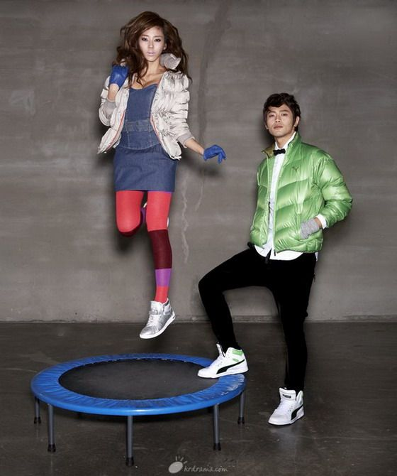Korea Actress Son Dam Bi (손담비) – Puma Ad Photoshoot - beautiful girls