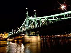 Budapest - Bridge of Liberty (ottosohn) Tags: hungary nightshot traditional hauptstadt budapest illuminated duna ungarn budapeste danube nachtaufnahme donau removed magyarorszg boedapest beleuchtet greenbridge capitalcity libertybridge gellertbad szabadsghd freiheitsbrcke budapeszt budimpeta budape budapeta budapetas gellerthegy angestrahlt colorphotoaward grnebrcke platinumheartaward trynka budaandpest bridgeofliberty ottosohn platinumpeaceaward gellertfrd