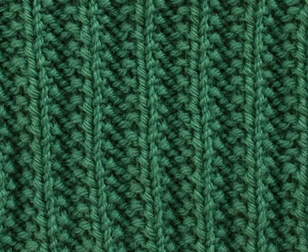 Reversible Knitting Stitch Patterns Free : REVERSIBLE KNITTING STITCHES FOR SCARVES Free Knitting Projects
