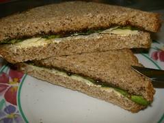 cheese lettuce marmite sandwich kiwiana