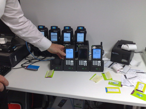 Myki handheld scanners
