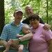 week 23- daddy, G-Pa, G-Ma, and Ben at Radnor