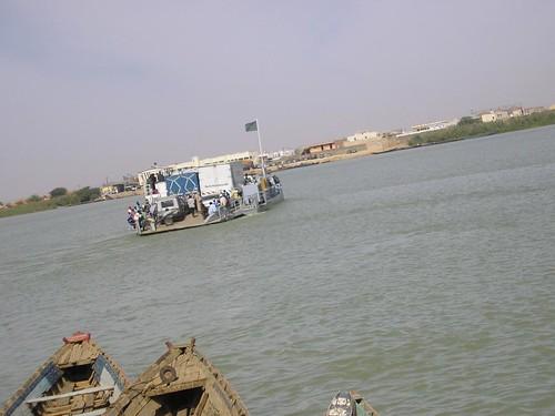Fronteira de Rosso, Senegal
