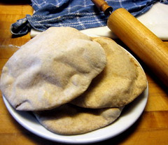 A plate of finished pita