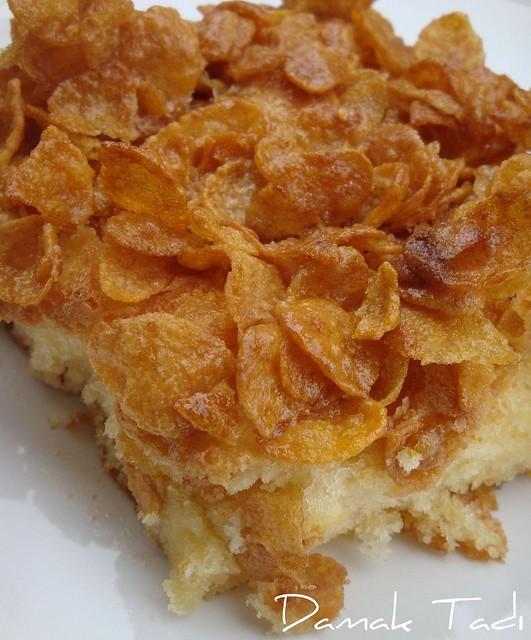 Mısır Gevrekli Yağlı Pasta