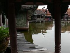 Across the Water . (sccart) Tags: thailand floatingmarket intheworld samutprakan muangboran ancientcity bangpoo floatingpavilion ancientsiam largestopenairmuseum