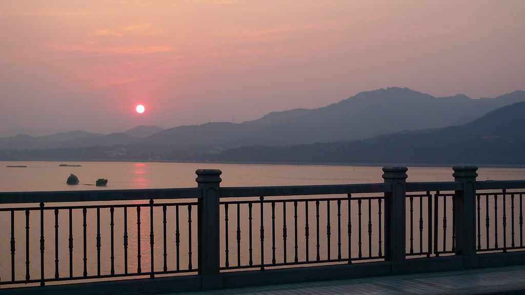 Sunset Over Hangzhou