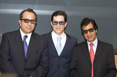 Javier Alarcon con lentes 3D
