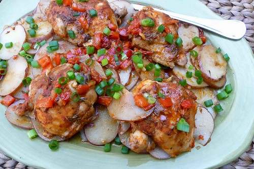 Smoked Paprika Chicken with Red-Skinned Potatoes Recipe