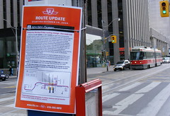 Queen Split 1 (Sean_Marshall) Tags: toronto downtown ttc tram transit streetcar queenstreet