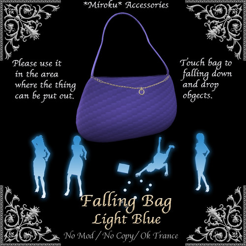 Faling Bag Light Blue