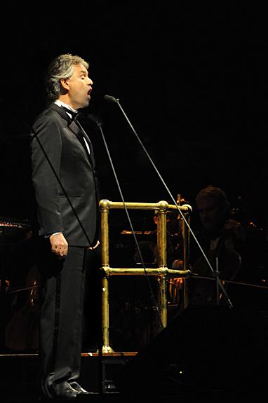 Andrea Bocelli at NIA Birmingham