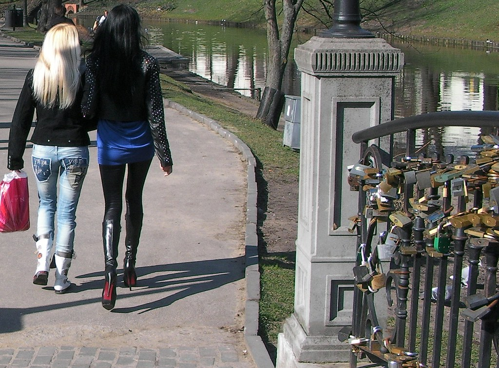 Strolling Girls Riga Latvia