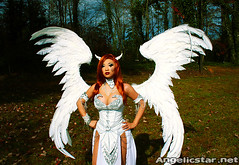dawn14 (yayahan.com) Tags: angel joseph dawn for michael costume wings heaven cosplay earth birth egg hell goddess redhead demon devil cry yaya rebirth han linsner angelicstar