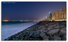JBR on the Rocks (DanielKHC) Tags: blue beach digital see high nikon rocks dubai dynamic uae hour residence range dri increase hdr jumeirah blending d300 jbr danielcheong danielkhc tokina1116mmf28 gettyimagesmeandafrica1