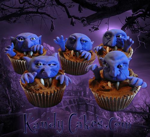 Vampire Cupcakes by Kandy Cakes