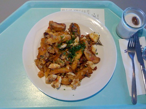 Kartoffel-Fisch-Gemüsepfanne - südfranzösische Art