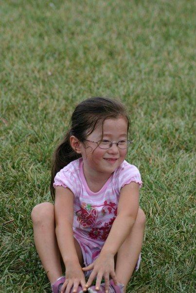 Katie sitting