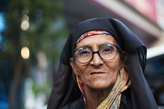 A model of a different kind.... (N A Y E E M) Tags: portrait homeless beggar bangladesh gec chittagong elderlywoman canonef50mmf14usm canoneos5d nayeemkalam