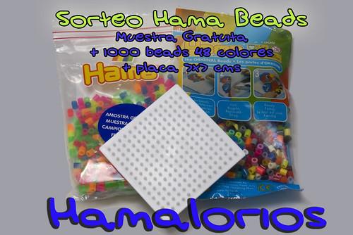2º Sorteo muestra gratuita Hama Beads + 1000 beads + pegboard!