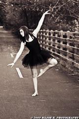 Dancers - Anna (BlazinBajan) Tags: black feet nature beautiful ga pose georgia outside outdoors dance woods pretty natural legs young dancer tutu mbp powdersprings majorbphotography