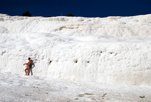 speedos abound at pamukkale