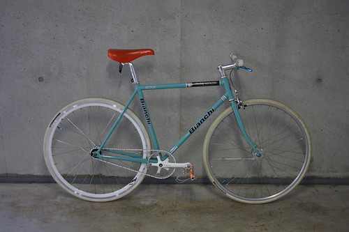 Bianchi Pista with Sugino RD2 Clank