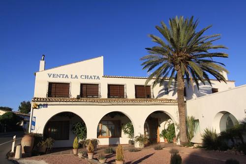 Hacienda-style architecture...