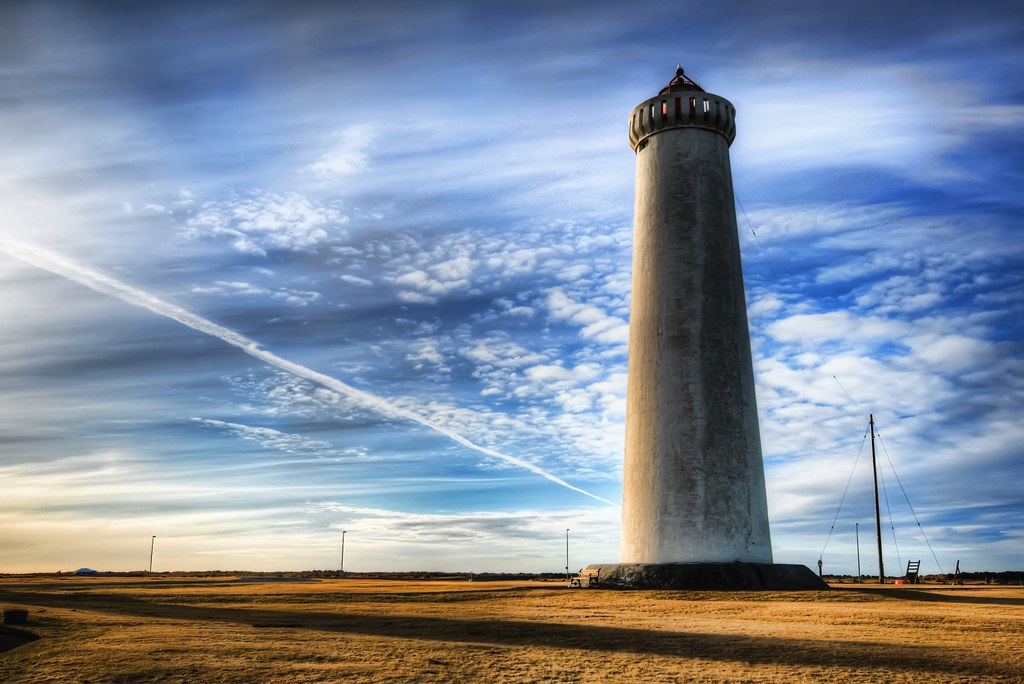 The Solitary Lighthouse