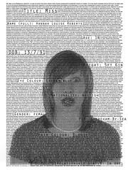 Hannah R (JenniferHampton) Tags: portrait blackandwhite studio photobooth hannah jenny profile mugshot roberts identification hampton passport personalinformation imageandtext