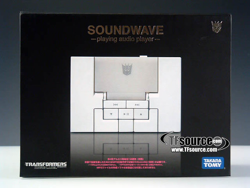 Transformers - Tape - Soundwave