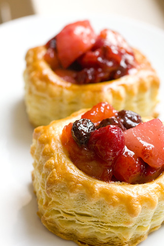 Winter Fruit Tarts