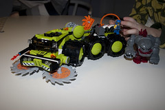 8708 Cave Crusher (Kristian Johansson) Tags: power lego miners