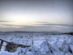 The cold + (Mi Gi) Tags: snow sundown hdr heemskerk g10