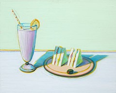 Wayne Thiebaud, Milkshake & Sandwiches, 2000 Sold for $1,072,400 May 24 2011 at Bonhams