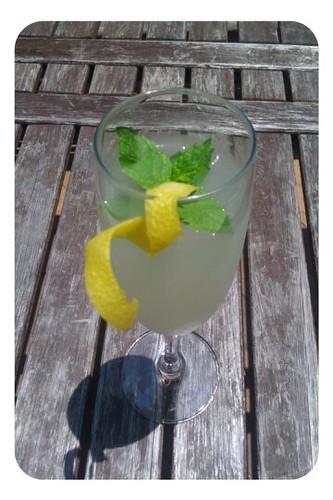 Sgroppino (Italian prosecco-vodka-lemon cocktail)