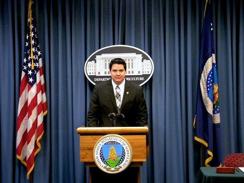 Virgilio Barrera, APHIS legislative intern (Spring 2011)