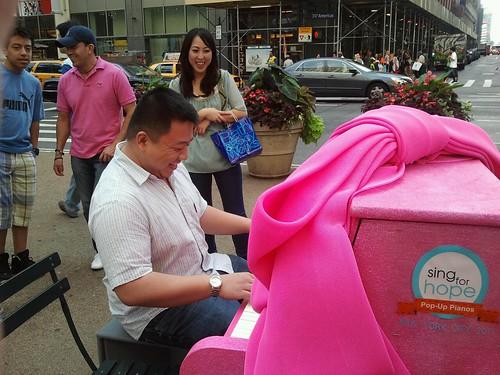Piano at Herald Square