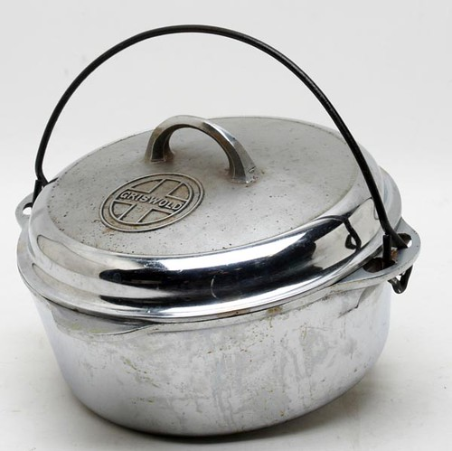 Griswold Tite-Top #8 Chrome Dutch Oven ($156.80)
