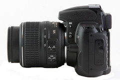 Nikon D5000 - Left