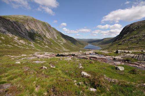 Eagles Rock and Dubh Loch