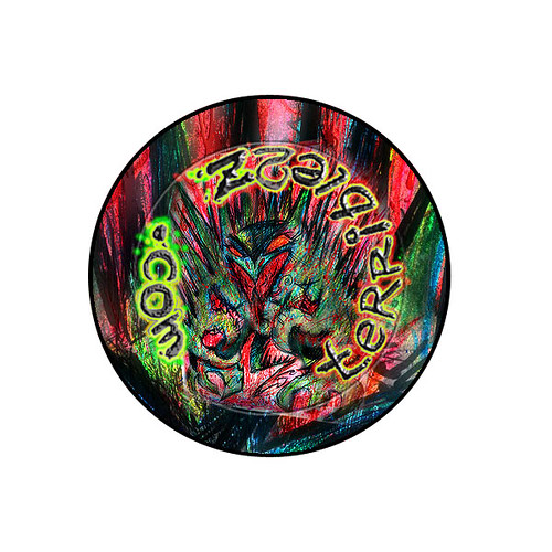 "terrible2z.com - ""TOKKA - ECKS ""  Button [[ Badge Design ]] (( 2009 ))"