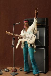 Jimi Hendrix (figure@Strobist #2)