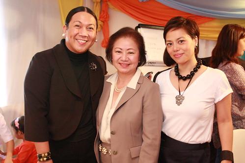 Melo, Charisse and Jenny Dizon