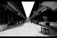 Shopping Street (davidfattibene) Tags: china urban bw xian bncitt