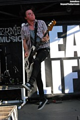 Garrett Nickelsen-The Maine (Beyond The Barricade Photography) Tags: jared records john dc md tour post brother pat maine maryland columbia warped monaco cant garrett stop warner 09 brock kenny 2009 kennedy wont ohhh ohh fearless merriweather ocallaghan kirch nickelsen