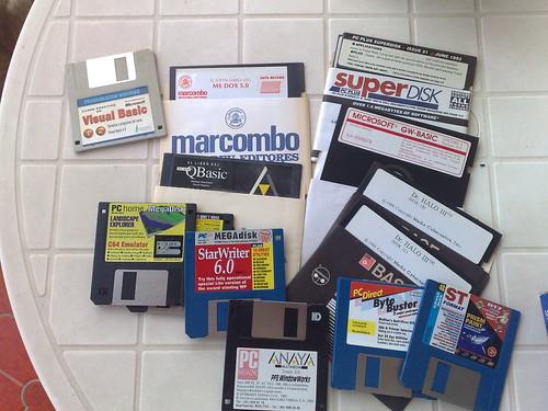 Discos varios de DOS