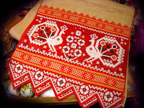 Русский сувенир вышивка 48