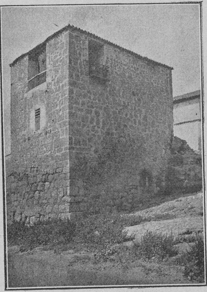 Torre del Hierro (Toledo) hacia 1900